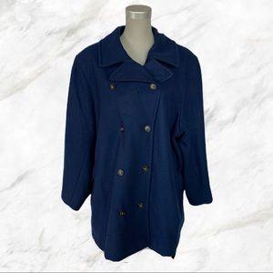 Lands' End | Navy Blue Wool Petticoat